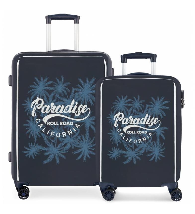 Comprar Roll Road Set valigie rigide 33L-67.5L Palm -36x55x20 cm / 48x67x25 cm-