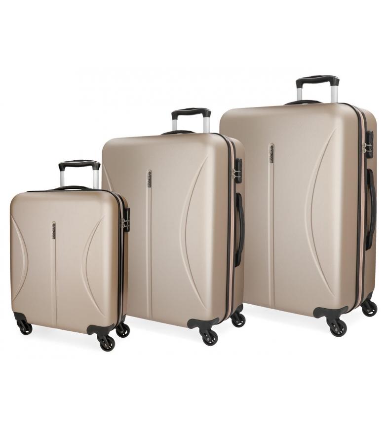 Comprar Roll Road Suitcase Roll Road Cambodia Rigid -55-70-80cm- Champagne
