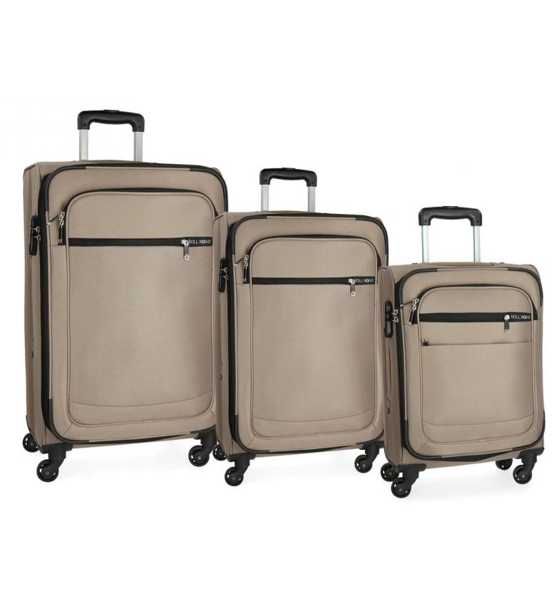 Comprar Roll Road Suitcase Roll Road Trail -55-67-76cm- Beige
