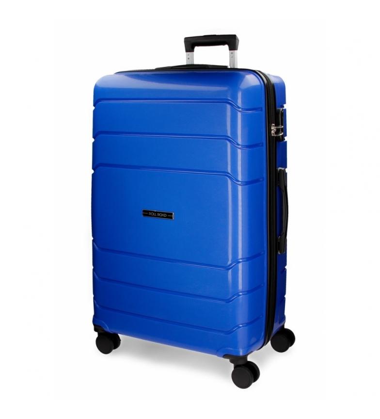 Comprar Roll Road Large rigid suitcase Roll Road Fast blue -51x80x30cm