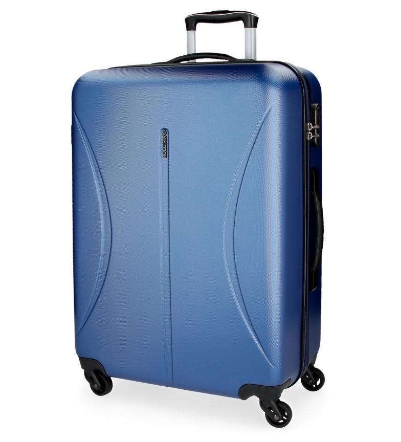 Comprar Roll Road Large suitcase Roll Road Cambodia rigid -50x70x26cm- Blue