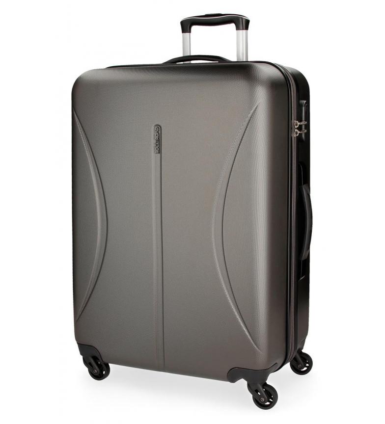 Comprar Roll Road Large suitcase Roll Road Cambodia rigid -57x80x29cm- Anthracite
