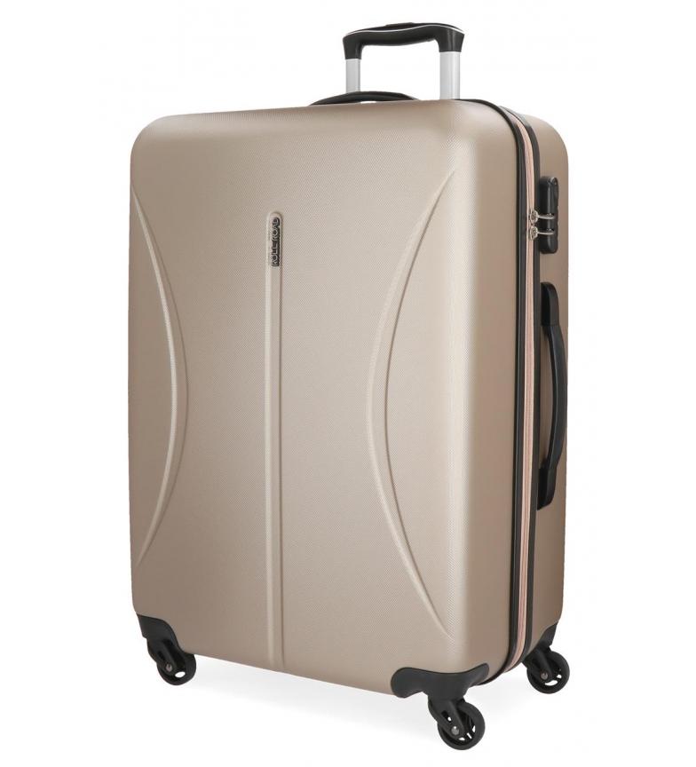 Comprar Roll Road Large suitcase Roll Road Rigid Cambodia -57x80x29cm- Champagne