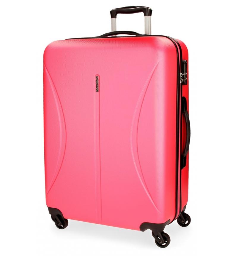 Comprar Roll Road Large suitcase Roll Road Cambodia rigid -57x80x29cm- Strawberry