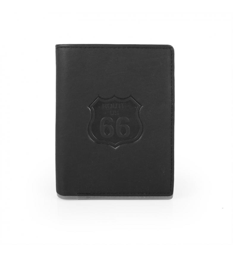 Comprar ROUTE 66 Portefeuille Route 66 Nevada homme noir -8x11x2-