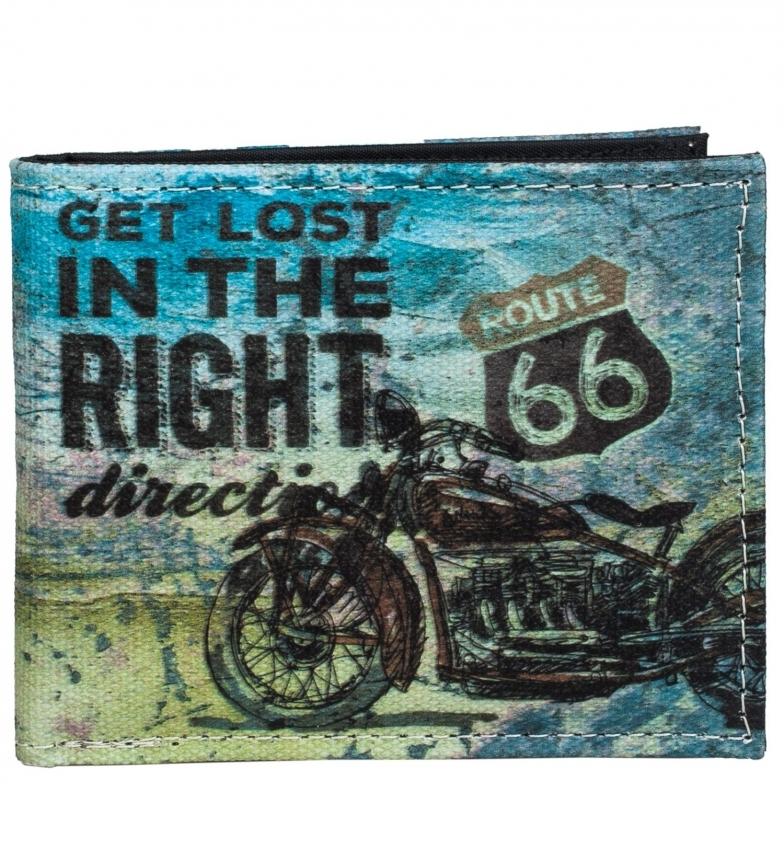 Comprar ROUTE 66 Route 66 R11910 portafoglio blu -10.5x8.5x2cm -