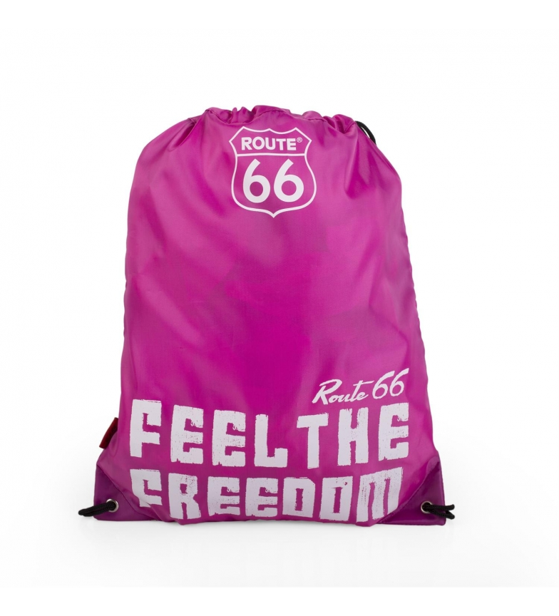 Comprar ROUTE 66 Zaino sacco Route 66 North Carolina fucsia -42x34cm-