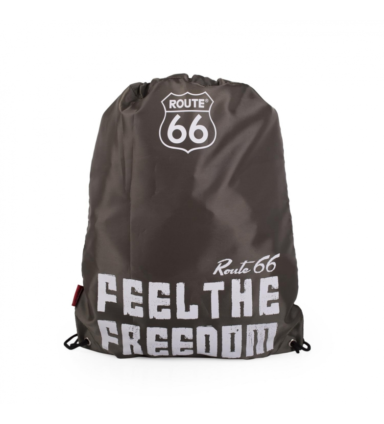 Comprar ROUTE 66 Rota Knapsack 66 Carolina do Norte cor cáqui -42x34cm
