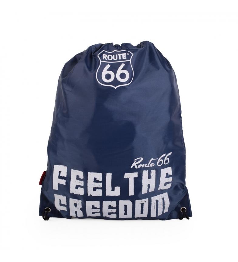 Comprar ROUTE 66 Rota 66 Carolina do Norte saco mochila mochila cor marinha -42x34cm