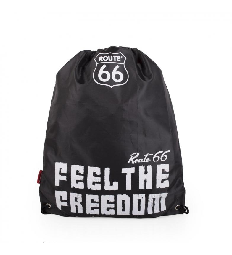 Comprar ROUTE 66 Route 66 North Carolina bag rucksack black -42x34cm
