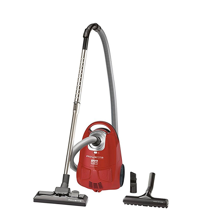 Comprar Rowenta City Space Facelift ultracompact red vacuum cleaner