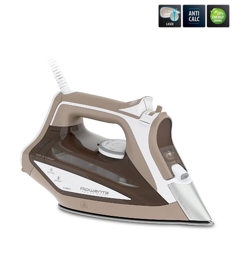 Comprar Rowenta Focus Excel fer à vapeur blanc, marron -2700W-