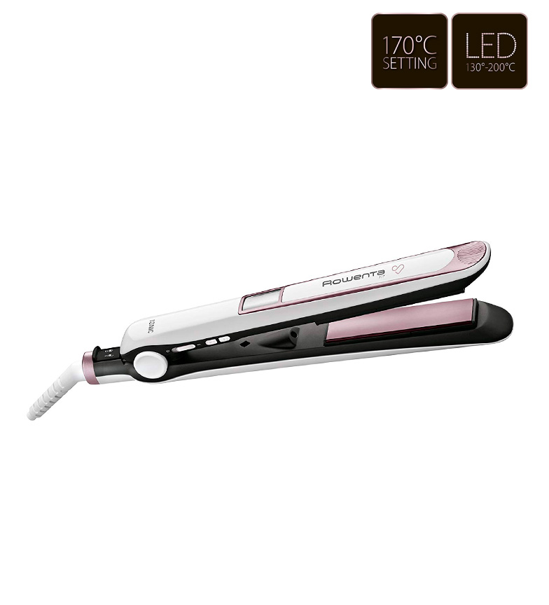 Comprar Rowenta Plancha de pelo Premium Care 7/7 blanco, rosa
