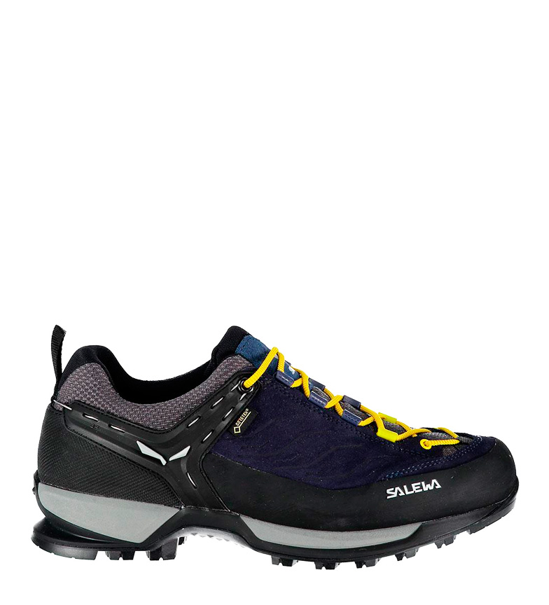Comprar Salewa Stivali via ferrata Trainer Mid GTX night black / Gore-Tex /