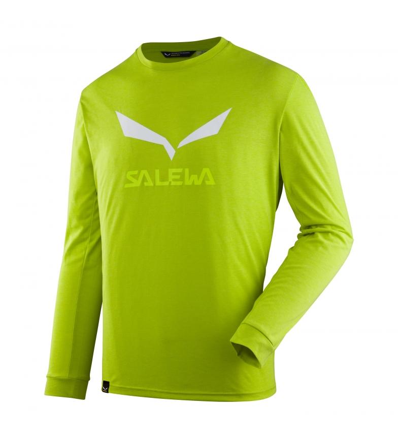 Comprar Salewa T-shirt Solidlogo monster melange