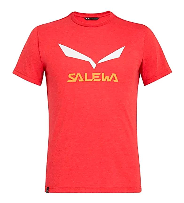 Comprar Salewa Camiseta Solid tango red