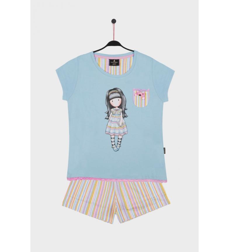 Comprar Santoro Pijama Manga Corta All Things Nice turquesa