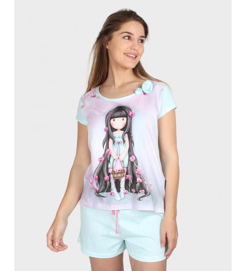 Comprar Santoro Pajamas Short Sleeve Rosebud mauve