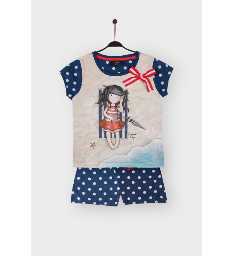 Comprar Santoro Pyjama à manches courtes pour les journées d'été en mer