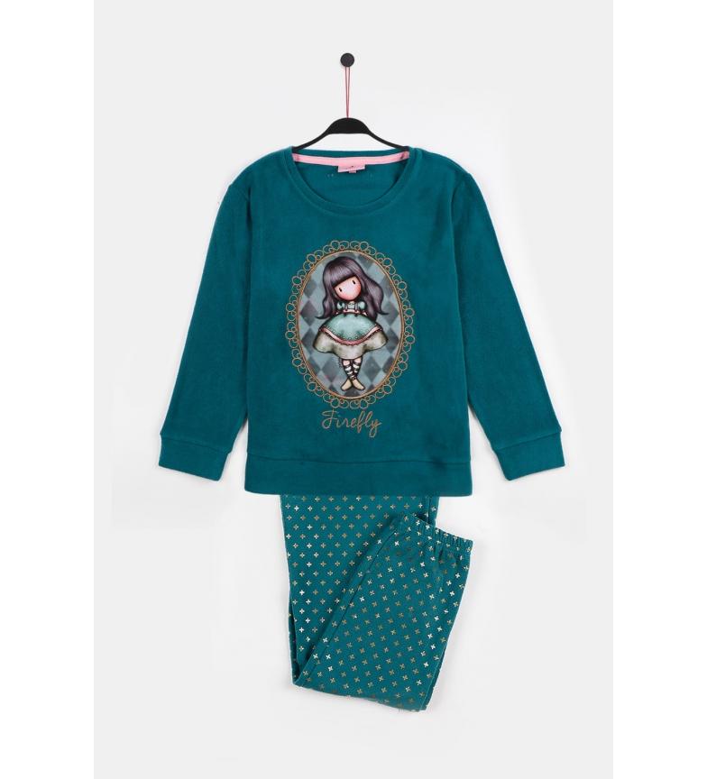 Santoro Pyjama à manches longues Bouteille chauffante du cirque Firefly