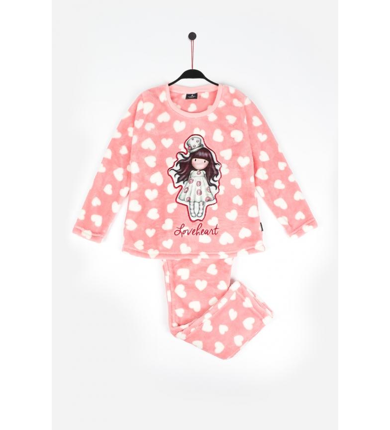 Comprar Santoro Pyjama à manches longues Raspberry Love Heart