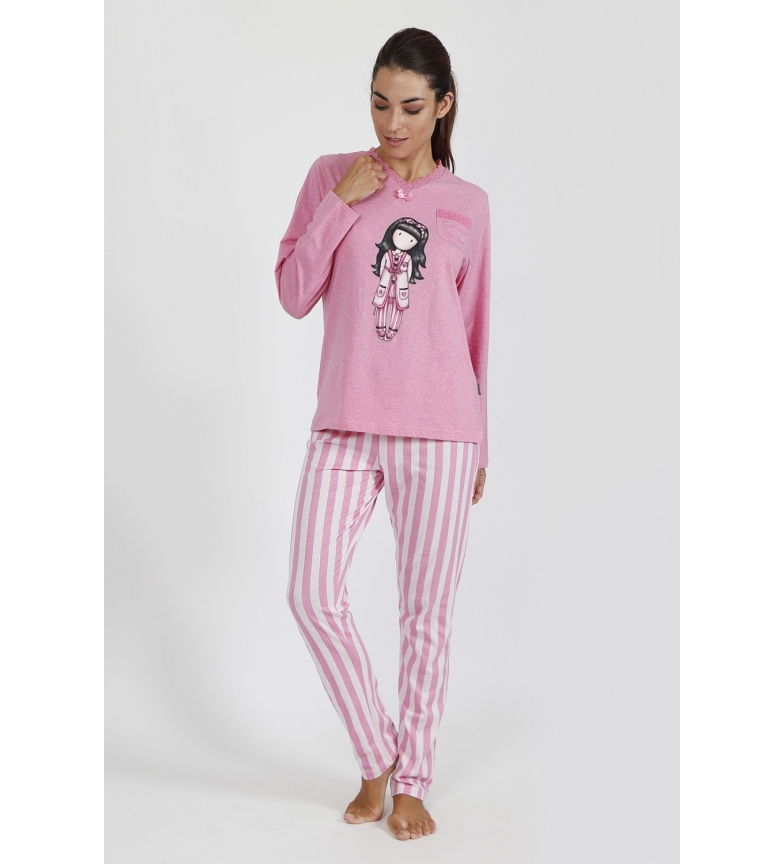 Comprar Santoro Pajamas Long Sleeve Goodnight Gorjuss Pink
