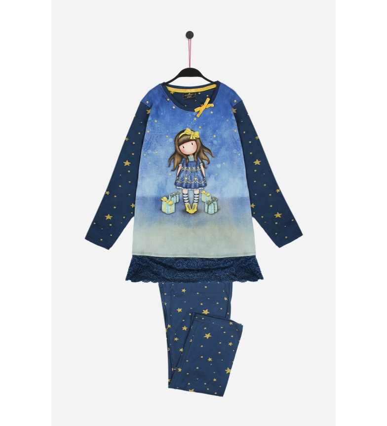 Comprar Santoro Pijama Manga Larga Just Because azul
