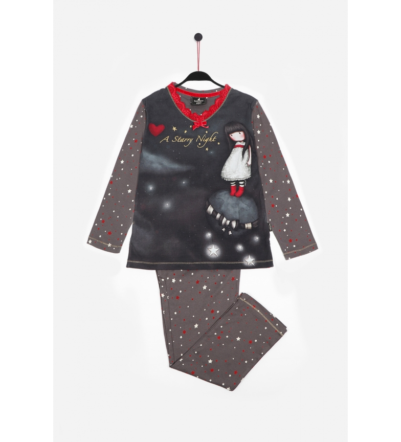 Comprar Santoro Pijama Manga Larga Starry Night marengo