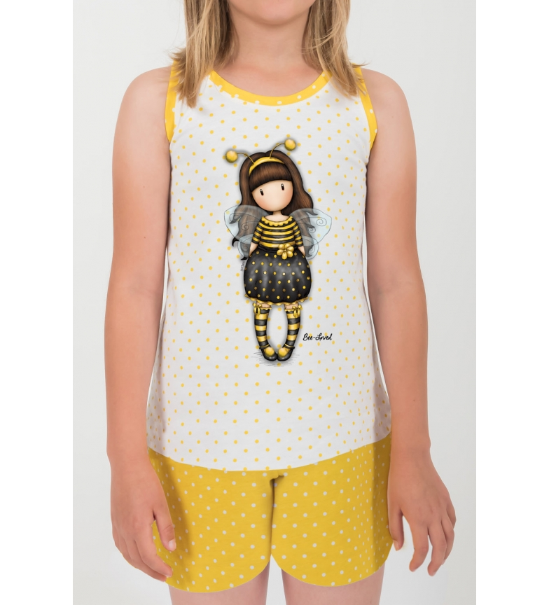 Comprar Santoro Pajamas Bee Loved yellow