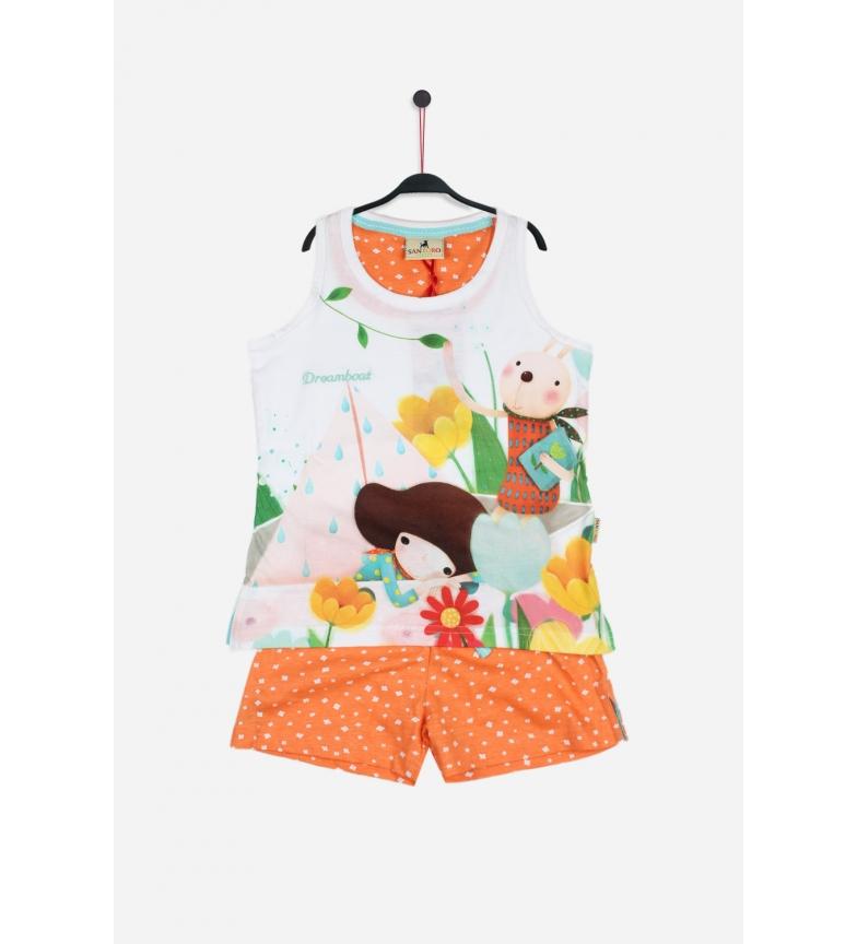 Comprar Santoro Pyjama Dreamboat Blanc