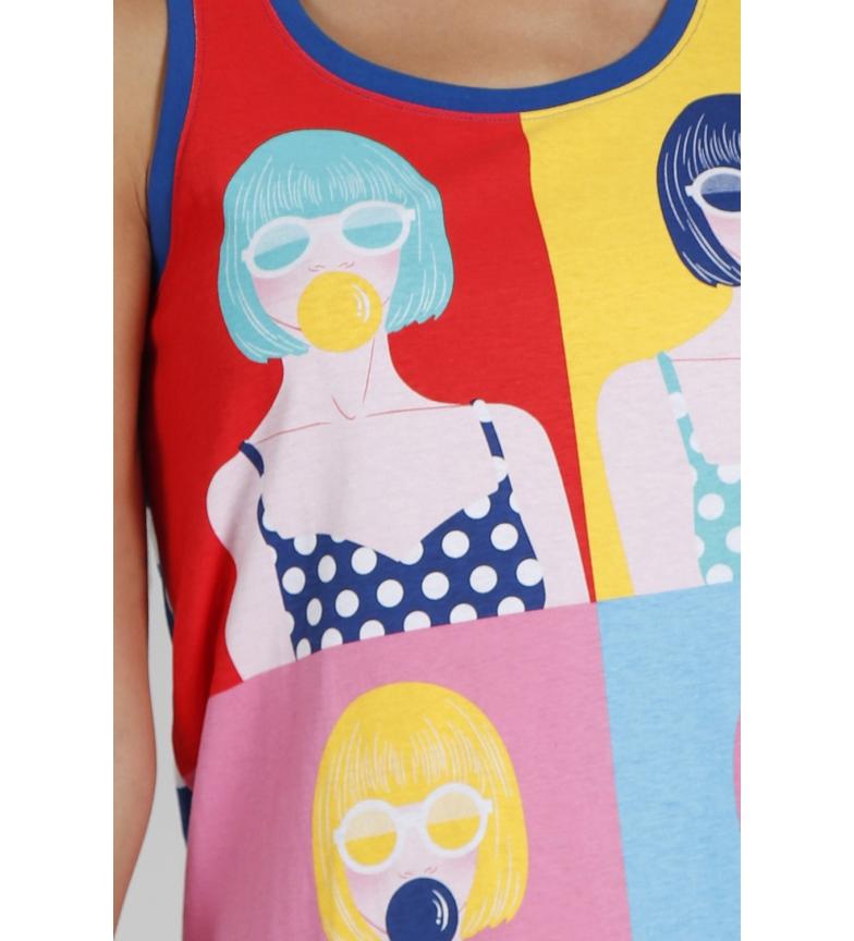 Santoro Pyjama sans bretelles Pop multicolore