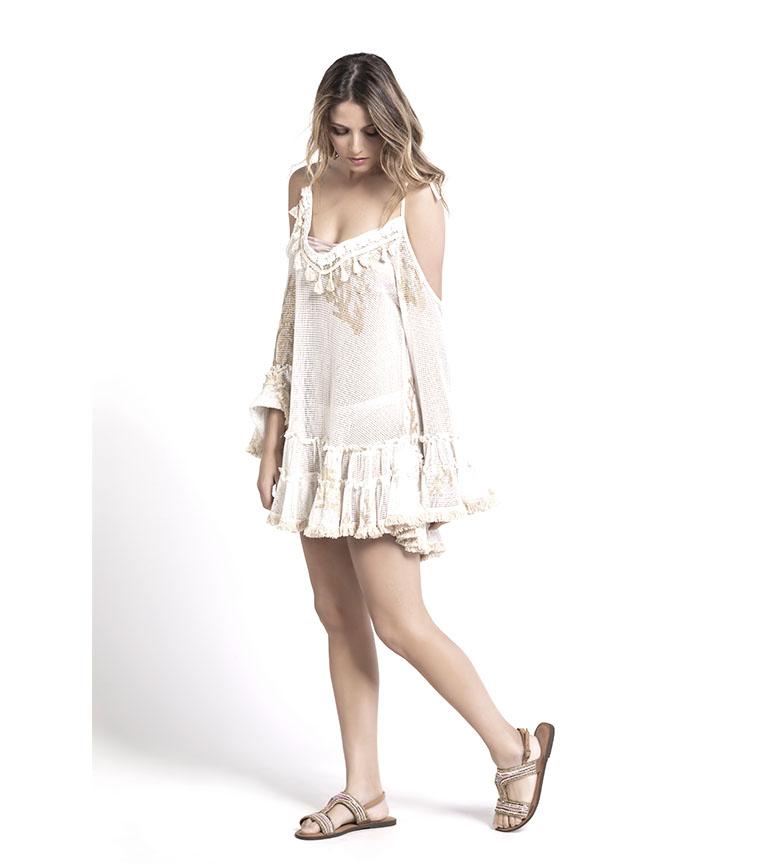 Comprar Savage Culture Blusa Flores beige