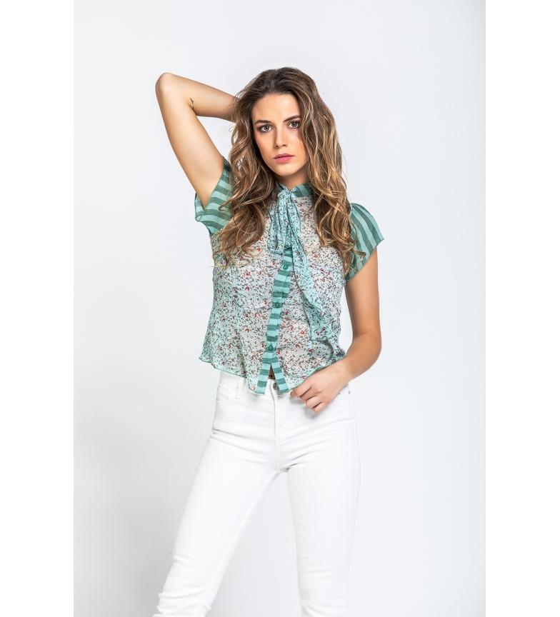 Comprar Savage Culture Riverside water green blouse