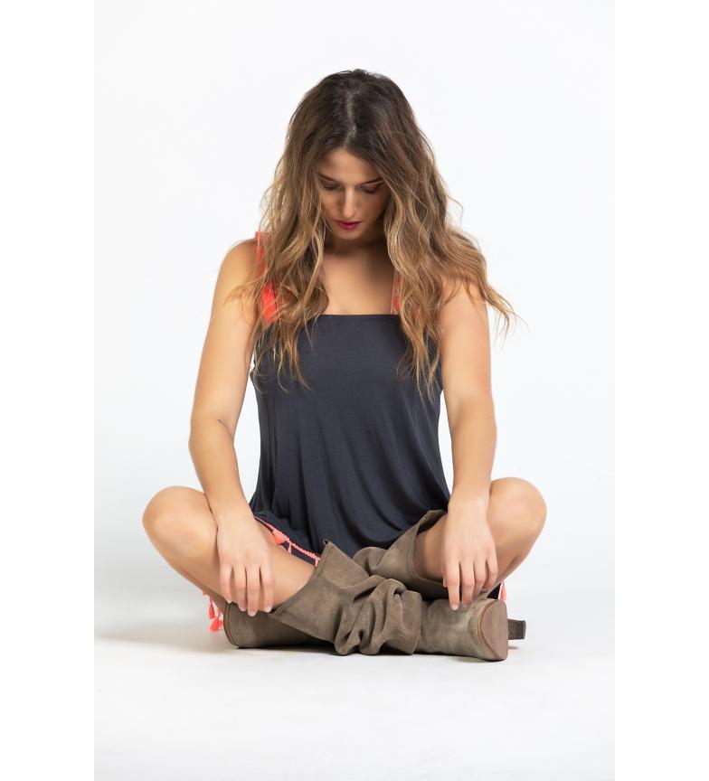 Comprar Savage Culture T-shirt Salinas gris