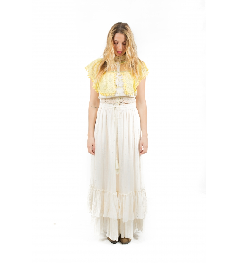Comprar Savage Culture Skirt Moraine white