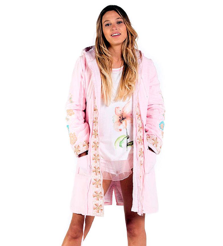 Comprar Savage Culture Ischia Parka pink