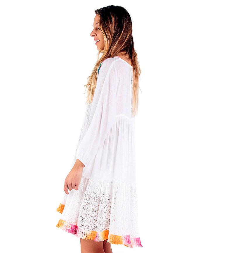 Blanco Culture Bassa Savage Vestido Cala I qSVzjUMpLG