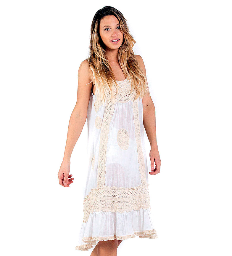 Comprar Savage Culture Dress Cala Vadella II white
