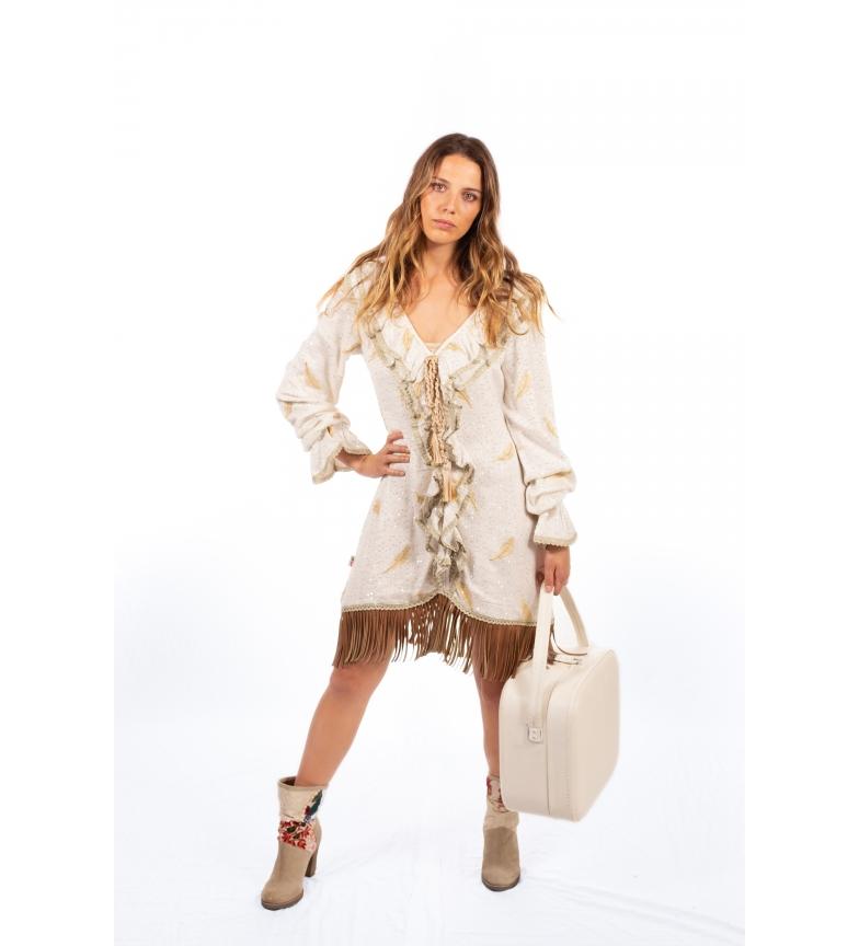 Comprar Savage Culture Vestido Barston I branco quebrado