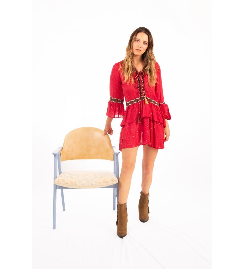 Comprar Savage Culture Chicago II Vestido Vermelho