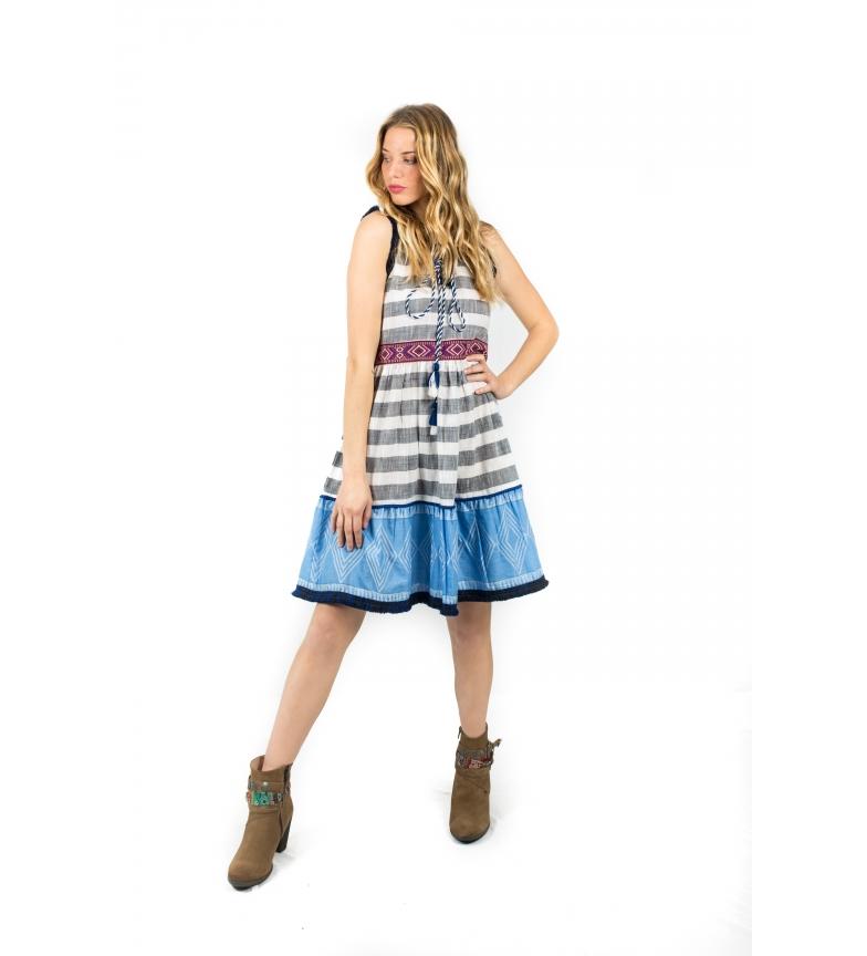Comprar Savage Culture Dress Cuzco II sailor stripes