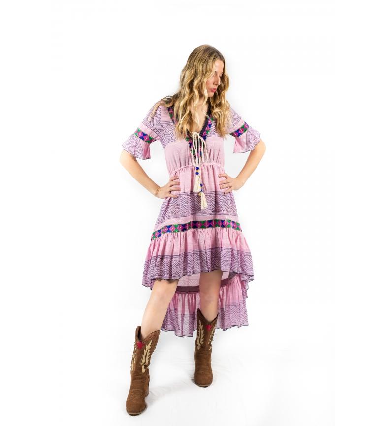 Comprar Savage Culture Dress Ha-Long II pink