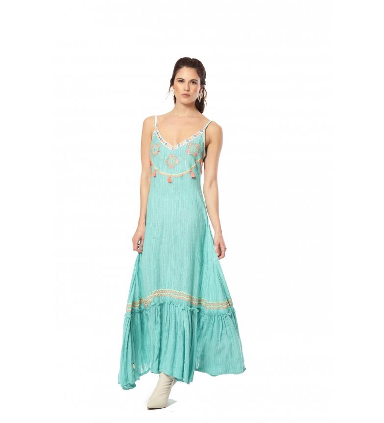 Comprar Savage Culture Juliet III turquoise dress