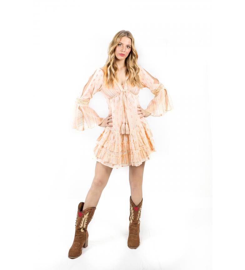 Comprar Savage Culture Mykonos V coral dress