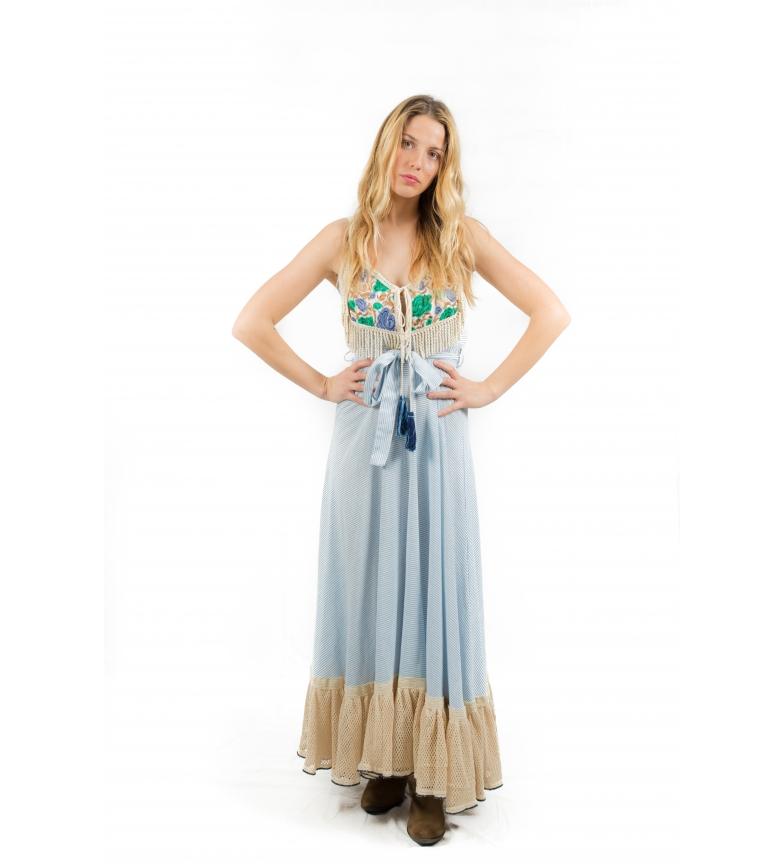 Comprar Savage Culture Dress Oia stripes blue