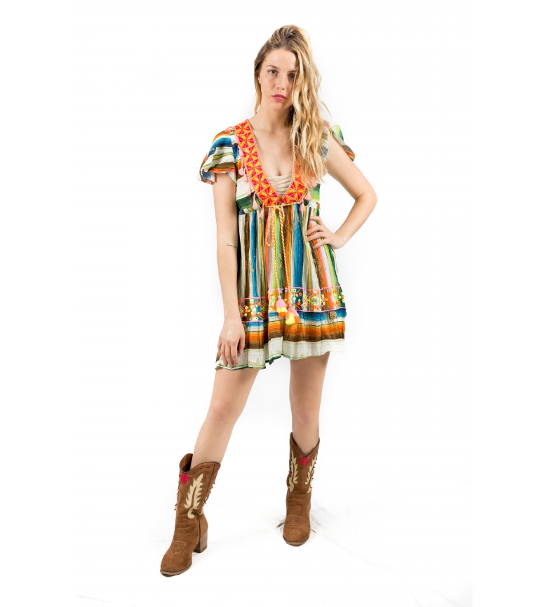 Comprar Savage Culture Multicolored Uyuni dress