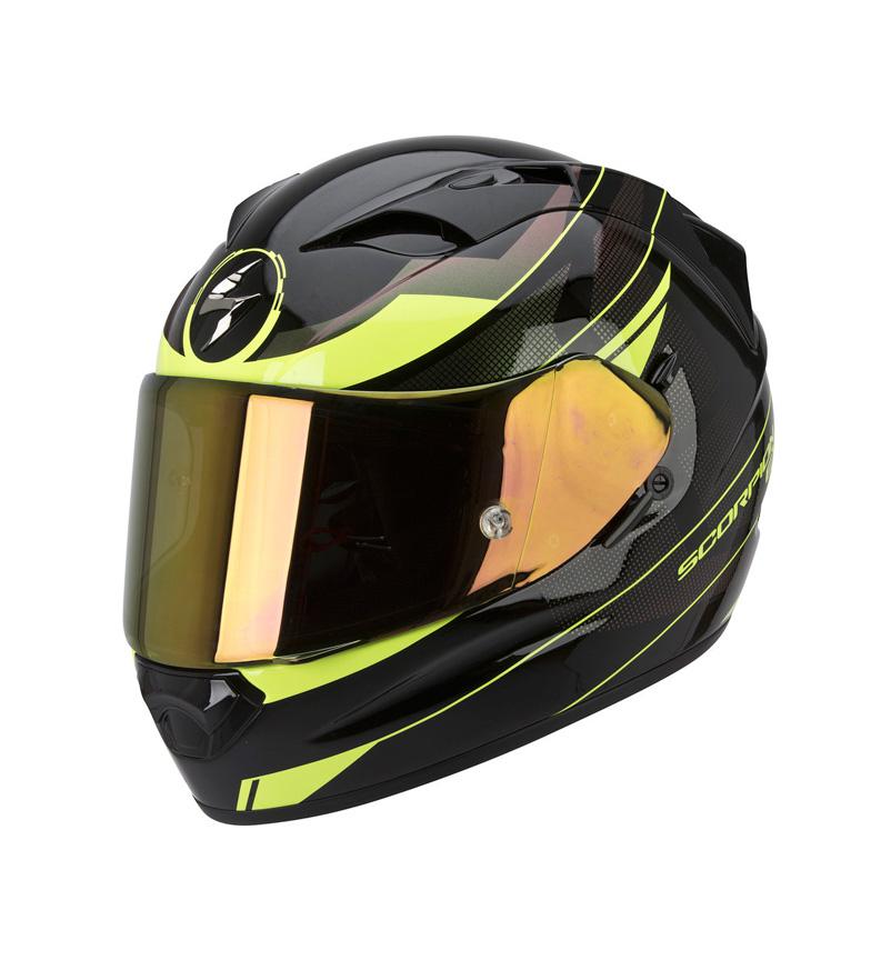 Comprar Scorpion Casco integral Exo 1200 Fulmen negro, amarillo