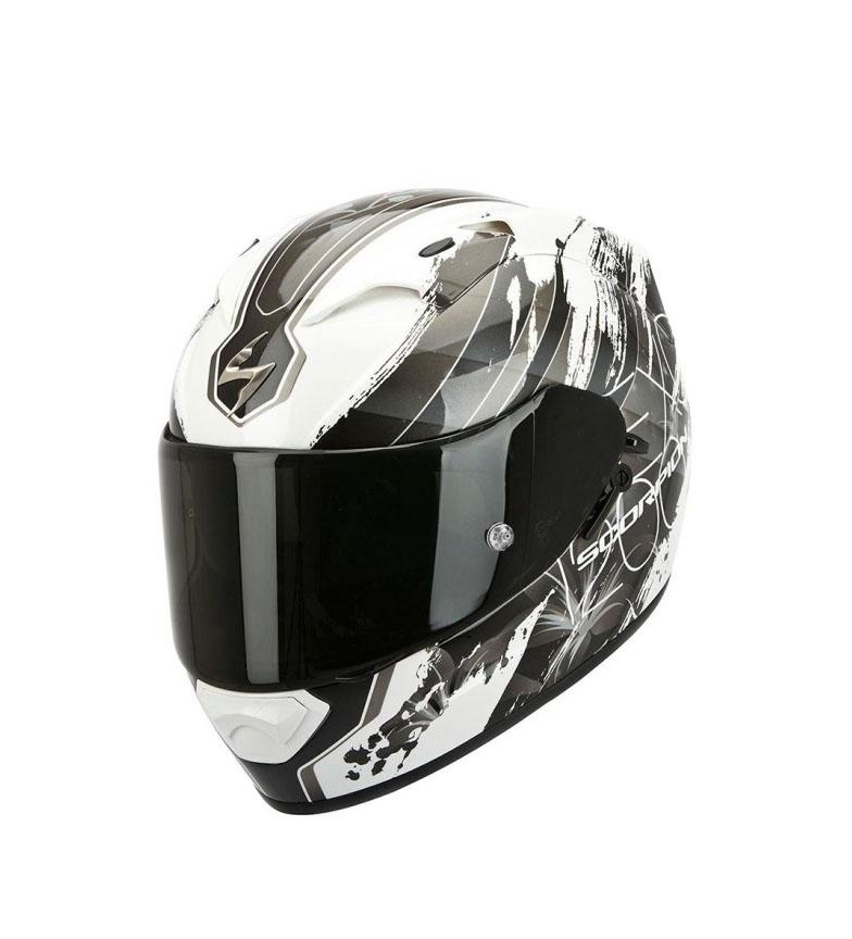 Comprar Scorpion Capacete Full-face Scorpion EXO 1200 Lilium camaleão branco