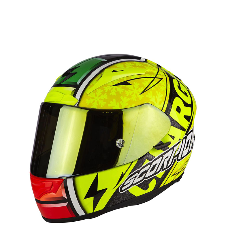 Comprar Scorpion Scorpion EXO 2000 AIR EVO integral helmet Bautista 3 yellow