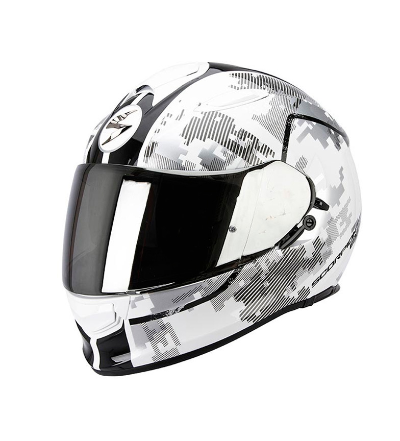 Comprar Scorpion Casco integral SCORPION Exo 510 Guard blanco, negro